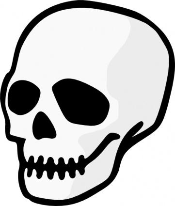 Skeleton Head Cliparts.