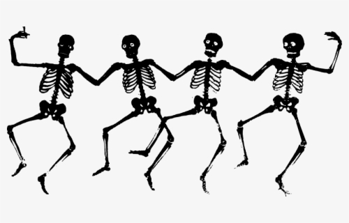 Free Skeletons Clip Art with No Background.