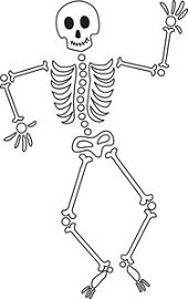 Skeletons Clipart.