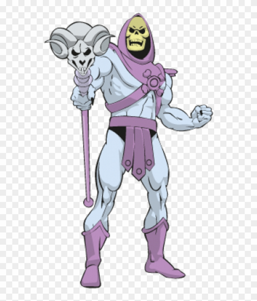 Skeletor Sticker.