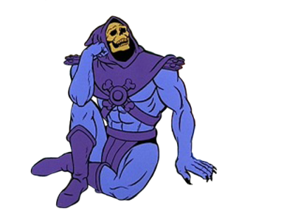 Skeletor PNG.