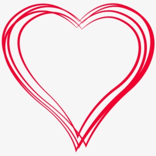 Sketch Heart Png Transparent.