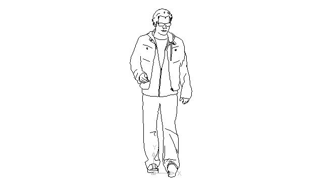 Free Walking Man Drawing, Download Free Clip Art, Free Clip.