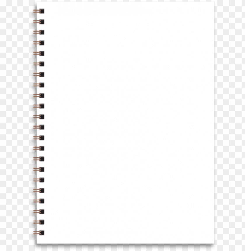 blank sketchbook png.