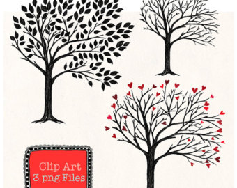 Tree Sketch Clipart.