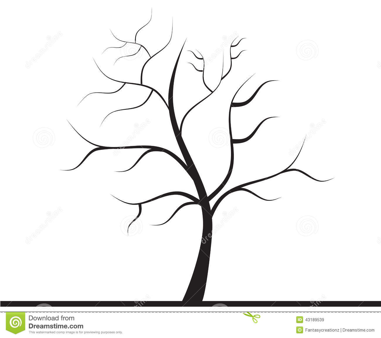 sketched tree clipart - Clipground