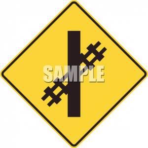 Railroad Sign Clipart.