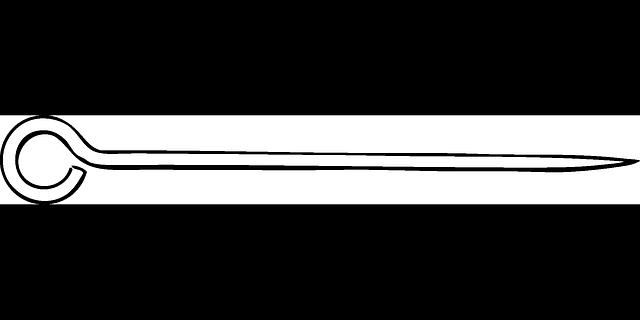 Free vector graphic: Skewer, Eye Hook, Pin.