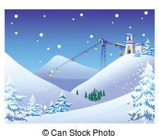 Ski lift Clipart Vector and Illustration. 934 Ski lift clip art.