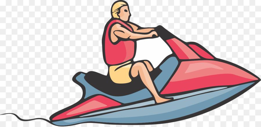 Personal water craft Jet Ski Water Skiing Clip art.