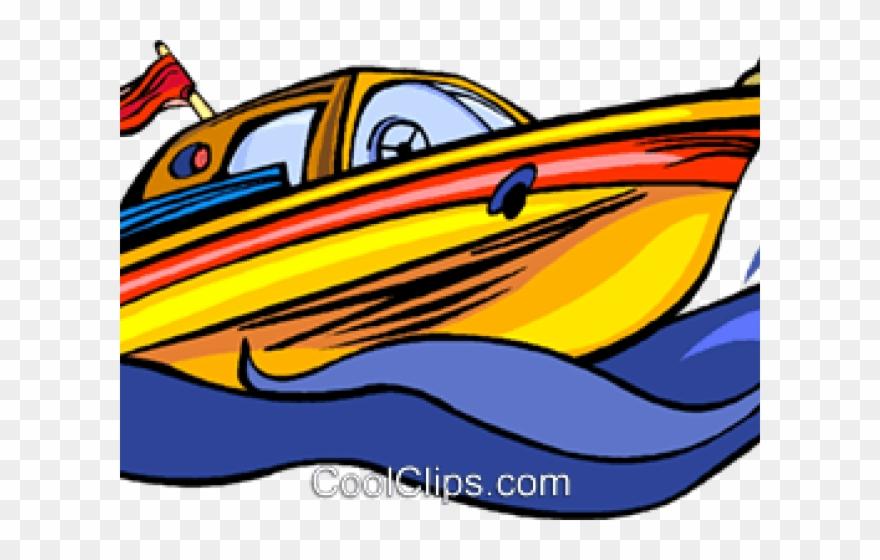 Speed Clipart Ski Boat.
