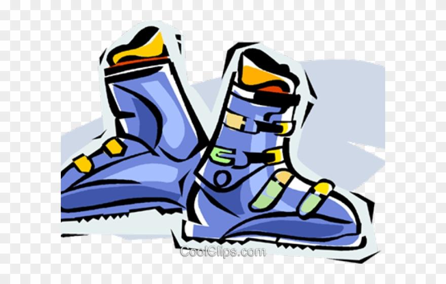 Ski Clipart Ski Boot.
