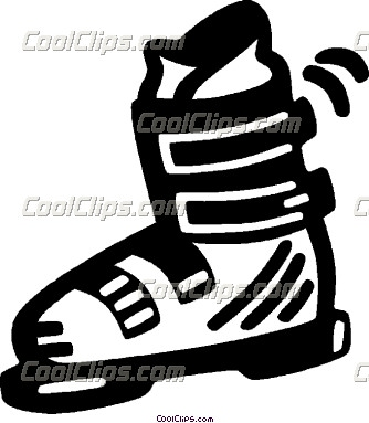 Cross Country Boots Clipart.