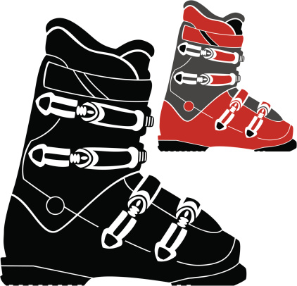 Ski Boots Clip Art, Vector Images & Illustrations.