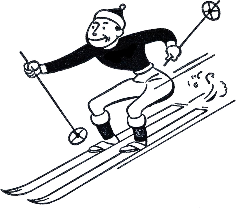 Ski Clipart. Clip Art. Ourcommunitymedia Free Clip Art Images.