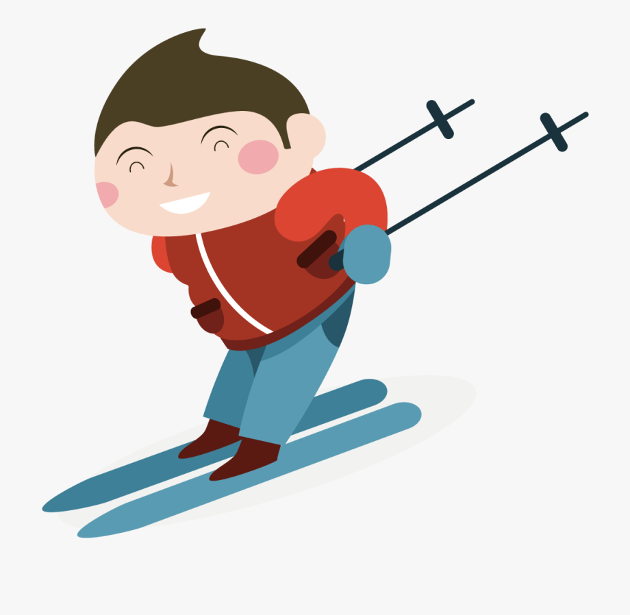 Skier Clipart Skiing Person.
