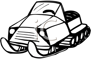 Royalty Free Skidoo Clipart.