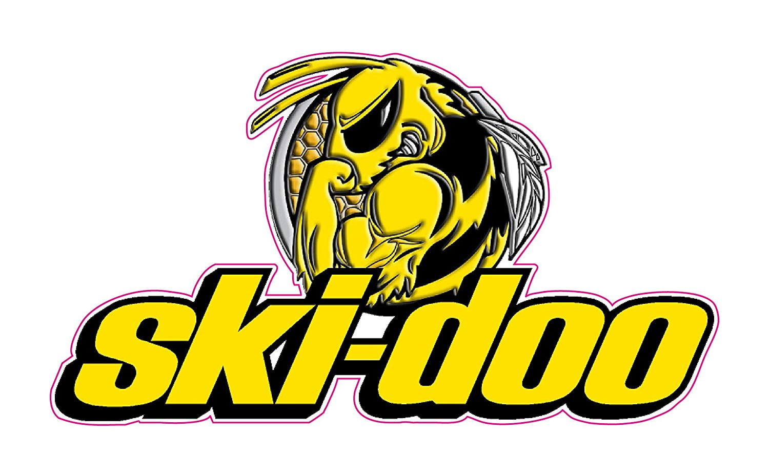 Ski Doo Bee Decal 6\