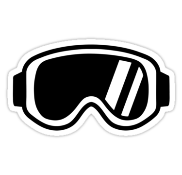 Skiing goggles.