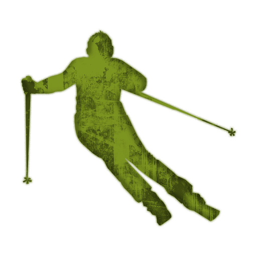 Skiing clipart transparent background.