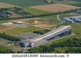 Indoor ski slope oberhof germany aerial view Stock Photo Images. 7.