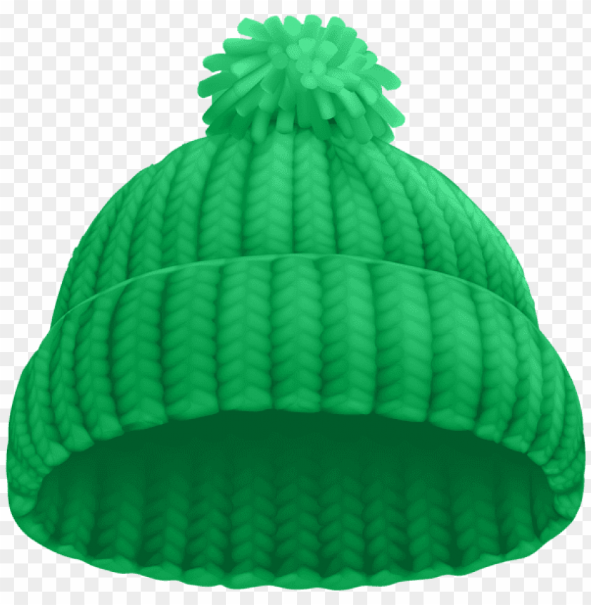 Download green winter hat clipart png photo.