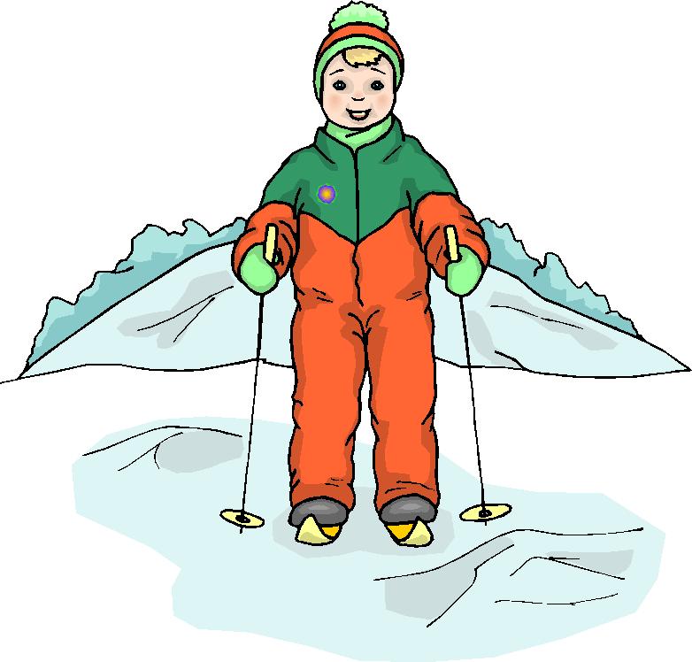 Snow Ski Clipart.