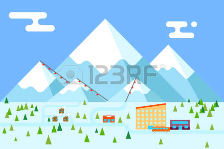 10,681 Ski Mountain Stock Illustrations, Cliparts And Royalty Free.