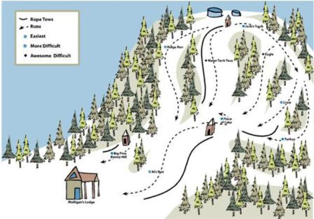 Ski Lodge Clip Art.