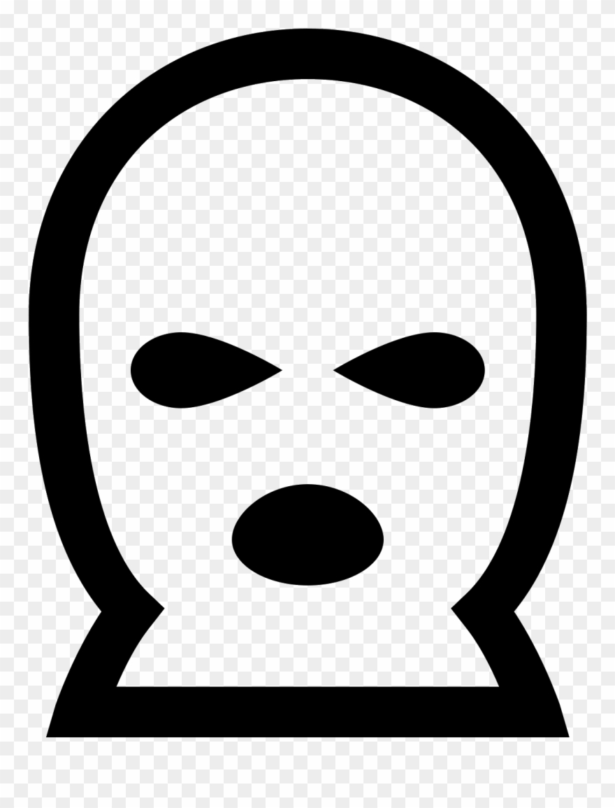 This Is An Icon Of A Ski Mask.