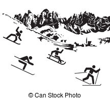 Ski resorts Illustrations and Clip Art. 69 Ski resorts royalty.