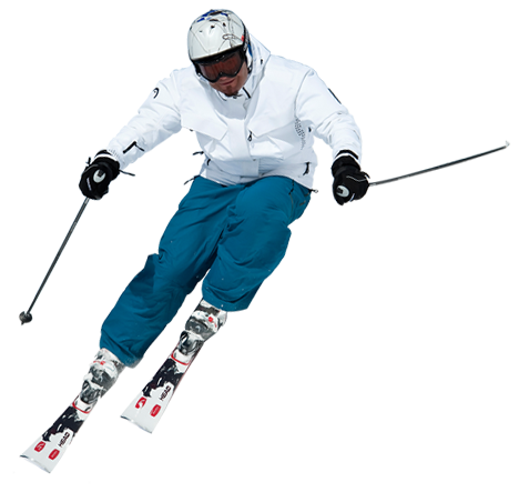 Skiing PNG Transparent Images.