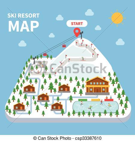 Ski resort Illustrations and Clip Art. 2,188 Ski resort royalty.