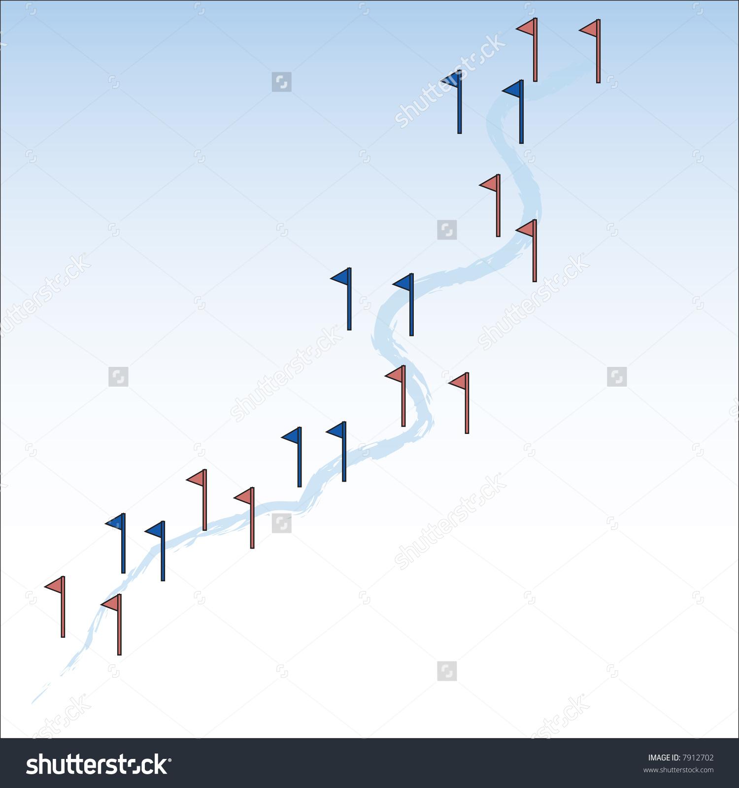Slalom Ski Runjpeg Available Stock Vector 7912702.