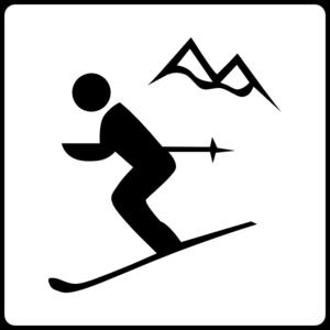 Hotel Icon Near Ski Area Clip Art at Clker.com.