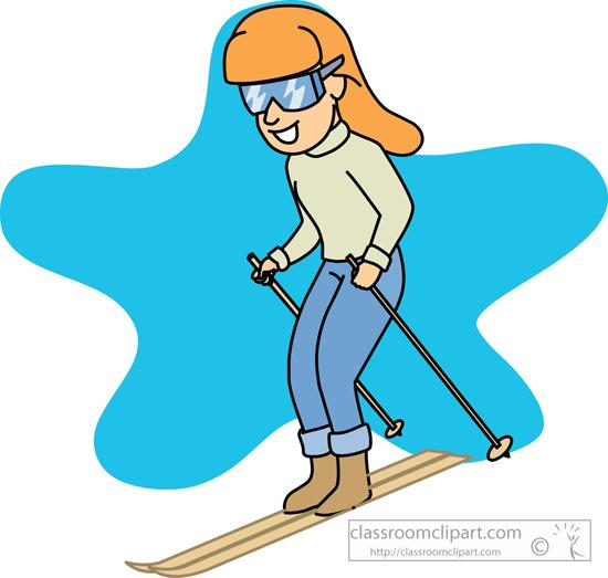 Ski sport clipart - Clipground
