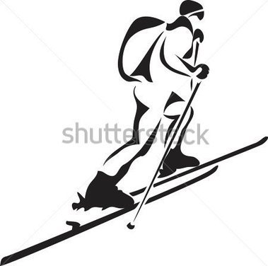 Similiar Ski Racing Clip Art Black And White Keywords.