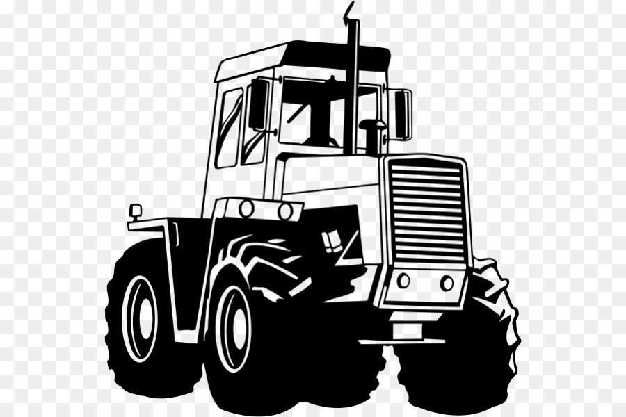 Skidder Tractor png download.