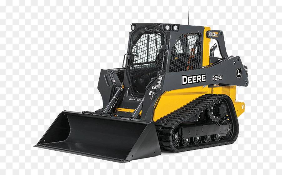 john deere skid steer clipart John Deere Heavy Machinery.
