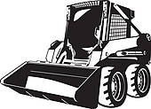 Skid steer clipart 2 » Clipart Station.
