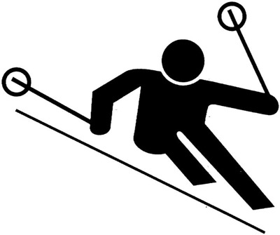 Free Cartoon Skiers, Download Free Clip Art, Free Clip Art.