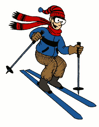 62+ Skier Clipart.