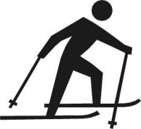 Free Skiing Clipart.