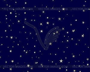 Starry Skies Clipart.