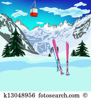 Ski hill Illustrations and Clipart. 272 ski hill royalty free.