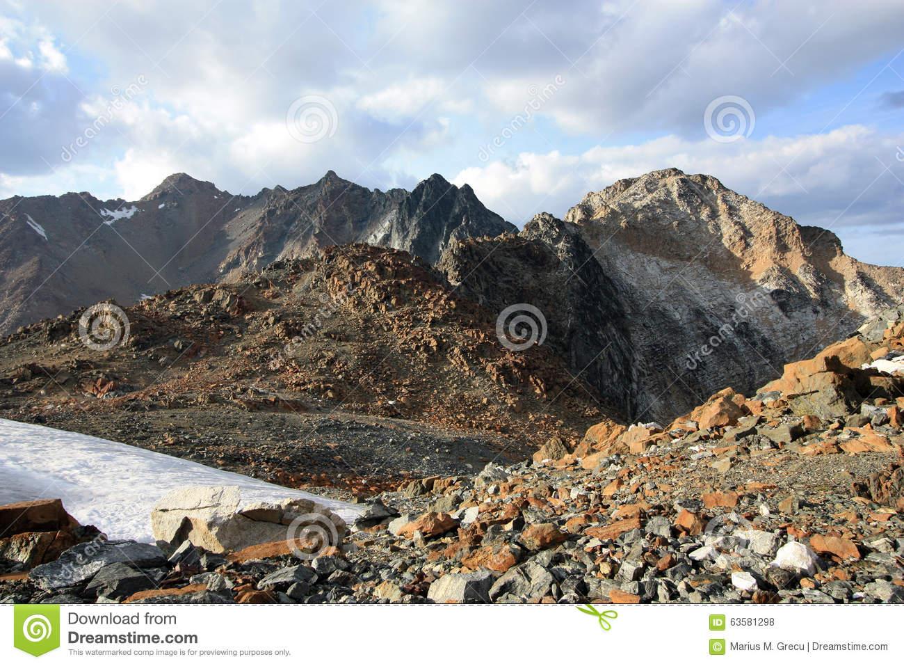 Skihist Mountain. Stock Photo.