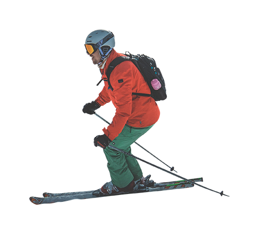 Alpine skiing PNG Images.