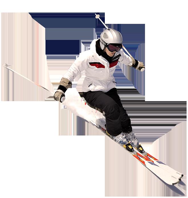 Skiing PNG Image.