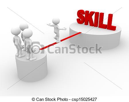 Skills Clip Art.