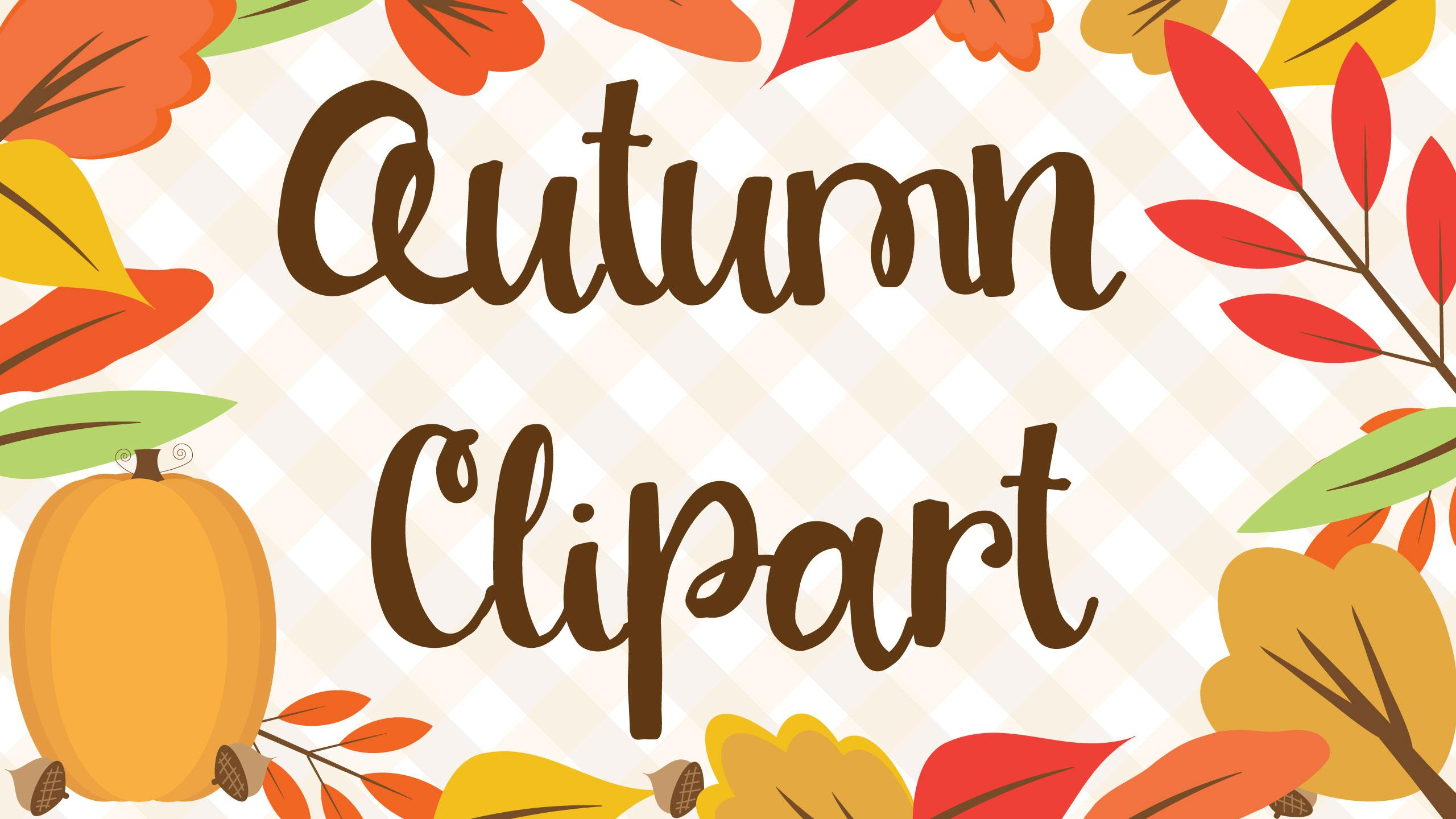 Making Fall Printables: Creating The Clipart.